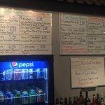 Meal options, menu board, Cafe Brie, 5-177 Second Ave W | Qualicum Beach, BC,, Qualicum Beach, B