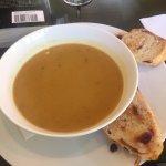 Butternut squash soup, Taste Cafe & Bistro,101-B-1080 Resort Dr | Parksville, BC