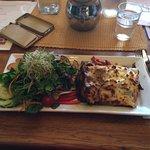 Vegetarian lasagne - amazing!!