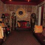 Voodoo room upstairs
