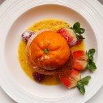 Orange Maltaise et sabayon de vin jaune