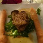 le plat de veau à la St Valentin... un peu tendancieux peut être ;-)