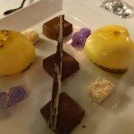assortiment de desserts à la St Valentin