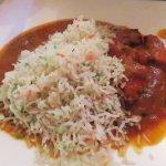 Chicken Madras & Pilau Rice - Spices, Bromsgrove (15/Feb/17).