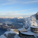View from the top of the Pilatus