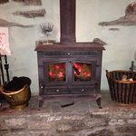 great stove, lovely and warm pub