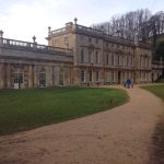 Pic 1 &4- dyrham house Pic 3- tapestry on wall Pic 4,6,7,9- paintings  Pic 10- deers in park