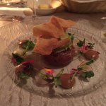 Tuna tartare (starter) - so fresh!