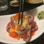 Volcano roll - spicy and amazing!