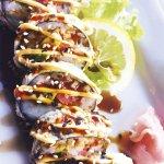 Samone di tempura con salsa piccante
