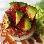 Tartare di tonno con avocado