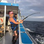 Stand up fishing for giant bluefin!