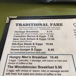 I'm having the hungry man breakfast.