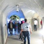 Underground tunnel bunkers