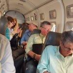 The plane ride to Alphonse
