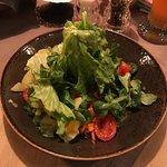Hauspfanne & Gemischter Salat