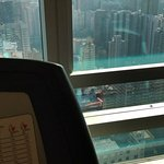 View from the treadmill