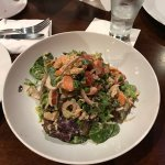 Insalata di pollo - Organic Roasted chicken meat with artisan lettuces, red onions, carrots, cel