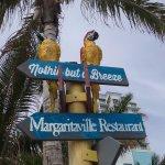 Sign outside Margaritaville