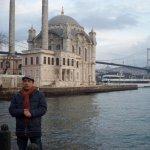 une vue magique...Grande mosquée Mecidiye et le pont du bosphore