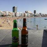 Kiosko, cerveza y sol