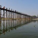 U-Bein-Brücke Foto
