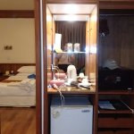 Accessories, safe and Refrigerator