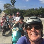 Just left the beach on our favorite Paradise Scooters!