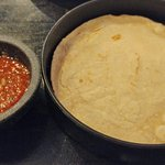 Salsa and house made tortillas