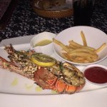Lobster (look at the fries given)