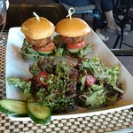 Twin Crab Cake Sliders