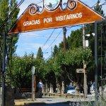 Entrada y salida de la Intendencia Parque Nacional Los Glaciares