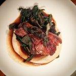 *Mangalitsa Pork Chop, Jerusalem Artichoke, Black Cabbage & Sage*