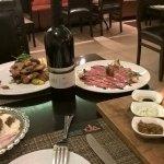 my dinner at Olla