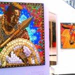 Collage alusivos al Carnaval de Barranquilla.