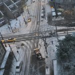 Snow on Robson - Winterscape