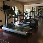 Decent fitness room