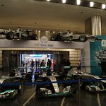 F1 cars on display in Shopping Centre