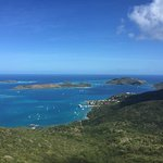 The View from Hog Heaven on Virgin Gorda
