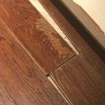 flooring is loose