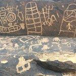 Petroglyphs are on the Anazasi trail