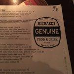 Michael's Genuine Food & Drink