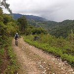 The backdoor trail up to Sagada Town.