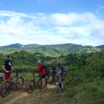 Awesome view of the mountains in Dona Remedios Trinidad, Bulacan.