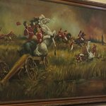 Depiction of the Battle of New Orleans