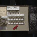 Old fashioned voting machine