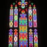 More gorgeous stained glass in the auditorium