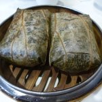Sticky Rice Wrap with Chinese Sausage