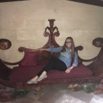 In what other castle can you sit on the original furniture?...I asked permission before I sat on