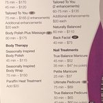 Spa Pricing page 1